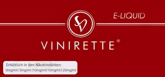 #Vinirette Liquid made in Germany