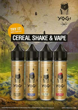 Yogi Shake & Vape Liquid made in USA