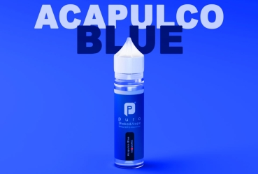 "50ml Puro Shake & Vape Liquid ""Acapulco Blue"""