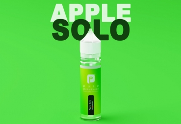 "50ml Puro Shake & Vape Liquid ""Apple Solo"""