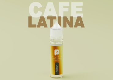 "50ml Puro Shake & Vape Liquid ""Cafe Latina"""