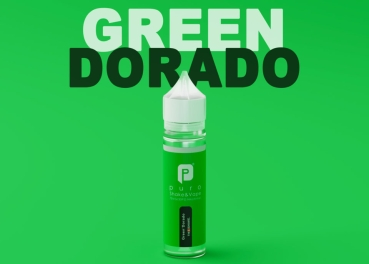 "50ml Puro Shake & Vape Liquid ""Green Dorado"""