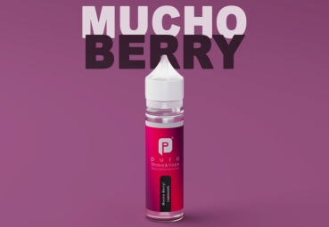 "50ml Puro Shake & Vape Liquid ""Mucho Berry"""