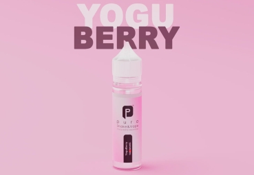 "50ml Puro Shake & Vape Liquid ""Yogu Berry"""